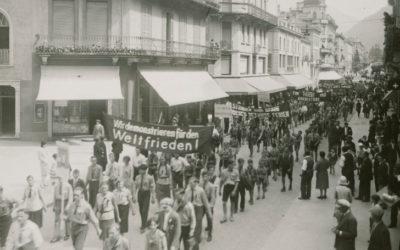 Giovani antifascisti a Bellinzona nel 1931 (marzo 2014)