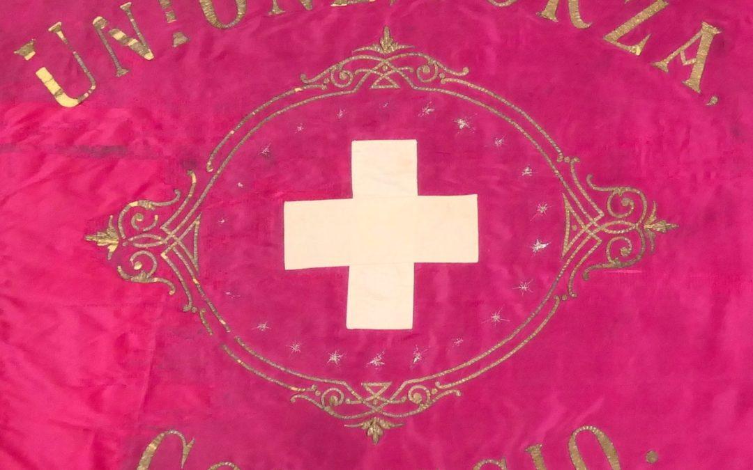 Una bandiera del 1862