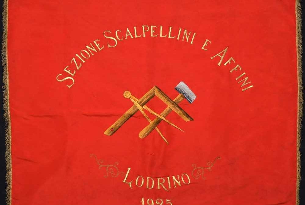 Vessillo degli scalpellini e affini (1925)